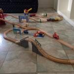 62318 Wooden Train Set