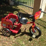 70313 Tandem fire engine trike